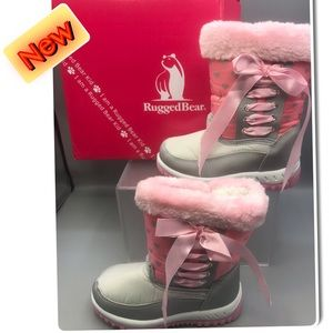 Rugged Bear Girls adorable Winter Boots